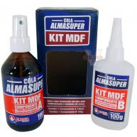 Cola Almasuper Kit MDF 190ml/ 100g